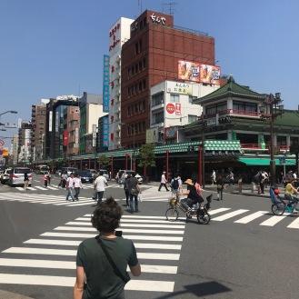 Kreuzung in Tokio